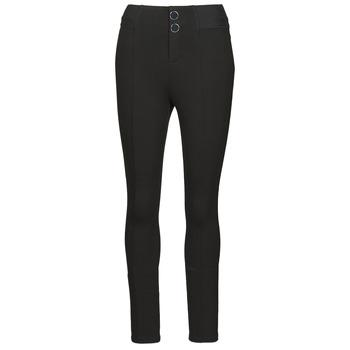 Textiel Dames Leggings Guess SEBASTIANA LEGGINGS Zwart