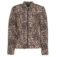 Textiel Dames Dons gevoerde jassen Guess VERA JACKET Leopard