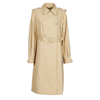 Textiel Dames Trenchcoats Guess PEGGY TRENCH Beige