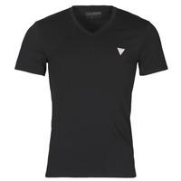 Textiel Heren T-shirts korte mouwen Guess VN SS CORE TEE Zwart