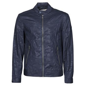 Textiel Heren Wind jackets Guess STRETCH BIKER Marine / Camo