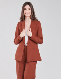 Textiel Dames Jasjes / Blazers Naf Naf LINONOU V2 Terracotta