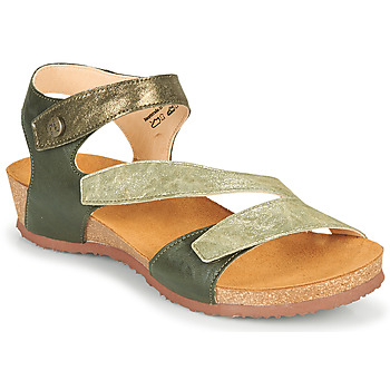 Schoenen Dames Sandalen / Open schoenen Think DOUMIA Groen