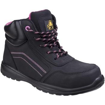 Schoenen Dames veiligheidsschoenen Amblers Safety  Zwart
