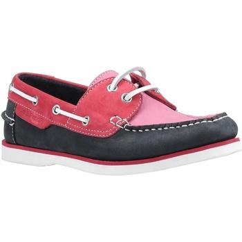 Schoenen Dames Bootschoenen Hush puppies  Roze/Zwaar