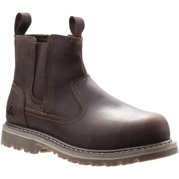 Schoenen Dames veiligheidsschoenen Amblers Safety  Bruin