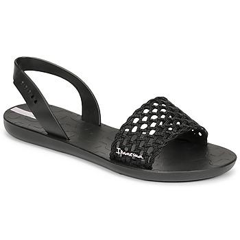 Schoenen Dames Sandalen / Open schoenen Ipanema IPANEMA BREEZY SANDAL FEM Zwart