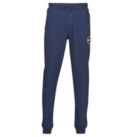 Textiel Heren Trainingsbroeken Tommy Jeans TJM SLIM BOX FLAG SWEAT PANT Marine