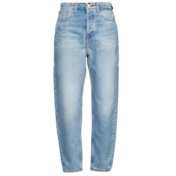 Textiel Dames Boyfriend jeans Tommy Jeans MOM JEAN ULTRA HR TPRD EMF SPLBR Blauw / Clair