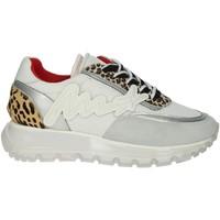 Schoenen Dames Lage sneakers Meline 1700 White/Silver