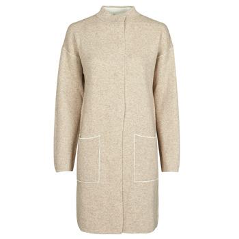 Textiel Dames Mantel jassen Benetton 1132E9071-62U Beige