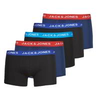 Ondergoed Heren Boxershorts Jack & Jones JACLEE X5 Blauw