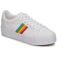 Schoenen Dames Lage sneakers Gola ORCHID PLATEFORM RAINBOW Wit / Multi
