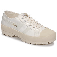 Schoenen Dames Lage sneakers Gola COASTER PEAK Ecru