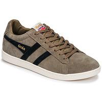 Schoenen Heren Lage sneakers Gola EQUIPE SUEDE Beige / Marine