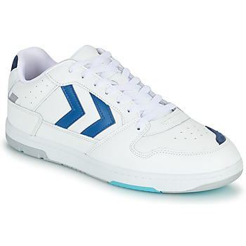 Schoenen Heren Lage sneakers Hummel POWER PLAY Wit / Blauw