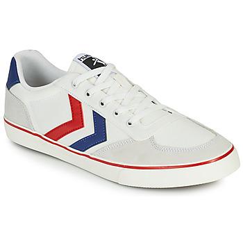 Schoenen Heren Lage sneakers Hummel STADIL LOW OGC 3.0 Wit / Blauw / Rood
