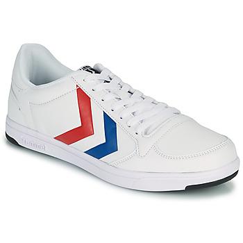 Schoenen Heren Lage sneakers Hummel STADIL LIGHT Wit / Blauw / Rood
