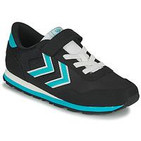 Schoenen Kinderen Lage sneakers Hummel REFLEX JR Zwart