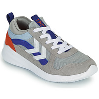 Schoenen Kinderen Lage sneakers Hummel BOUNCE JR Grijs / Blauw