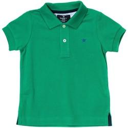 Textiel Jongens Polo's korte mouwen Hackett Polo à manches courtes Groen