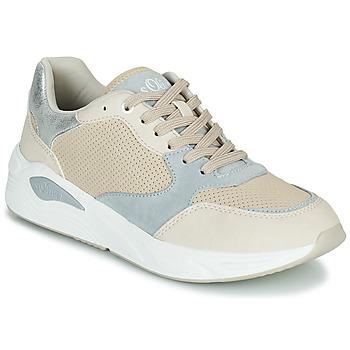 Schoenen Dames Sandalen / Open schoenen S.Oliver SAPANE Beige / Grijs