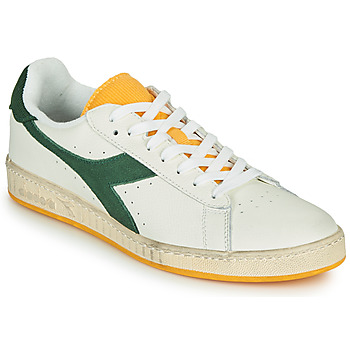 Schoenen Heren Lage sneakers Diadora GAME L LOW ICONA Wit / Groen / Geel