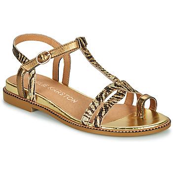 Schoenen Dames Sandalen / Open schoenen Karston SOREN Goud