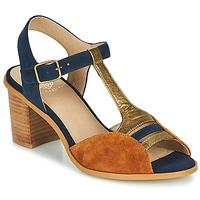 Schoenen Dames Sandalen / Open schoenen Karston LILIAN Brown / Marine