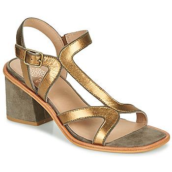 Schoenen Dames Sandalen / Open schoenen Karston PSOK Kaki / Brons