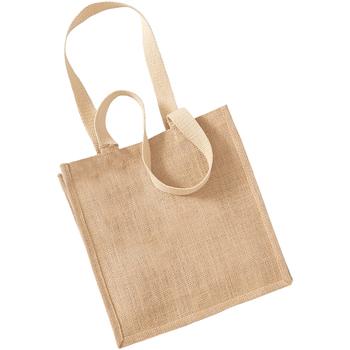 Tassen Tote tassen / Boodschappentassen Westford Mill W406 Natuurlijk