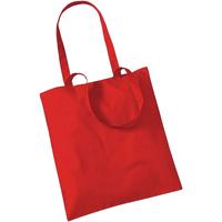 Tassen Tote tassen / Boodschappentassen Westford Mill W101 Helder rood