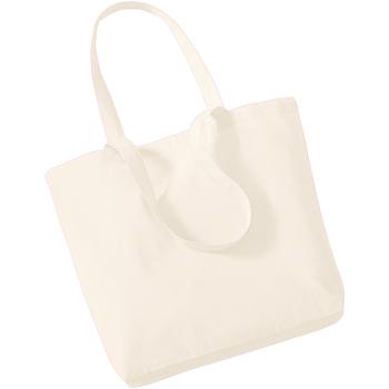 Tassen Tote tassen / Boodschappentassen Westford Mill W180 Natuurlijk