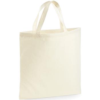 Tassen Tote tassen / Boodschappentassen Westford Mill W101S Natuurlijk