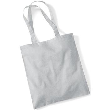 Tassen Tote tassen / Boodschappentassen Westford Mill W101 Lichtgrijs