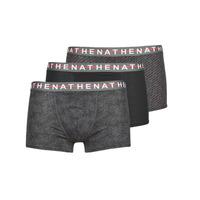 Ondergoed Heren Boxershorts Athena EASY STYLE X3 Zwart / Grijs / Grijs