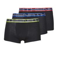 Ondergoed Heren Boxershorts Athena FULL STRETCH X3 Zwart