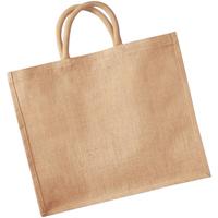 Tassen Tote tassen / Boodschappentassen Westford Mill W408 Natuurlijk
