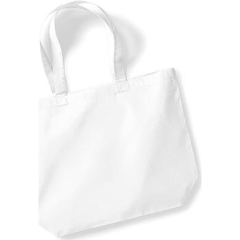 Tassen Dames Tote tassen / Boodschappentassen Westford Mill W125 Wit