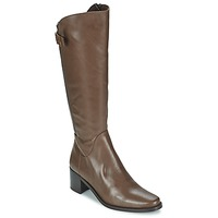 Schoenen Dames Hoge laarzen Betty London SALINA Brown