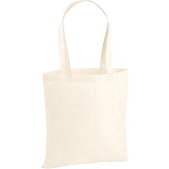 Tassen Tote tassen / Boodschappentassen Westford Mill W201 Natuurlijk