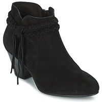 Schoenen Dames Enkellaarzen Betty London CROUTILLE Zwart