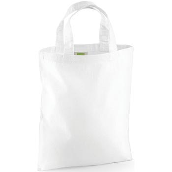 Tassen Tote tassen / Boodschappentassen Westford Mill W104 Wit