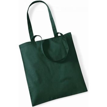 Tassen Tote tassen / Boodschappentassen Westford Mill W101 Fles groen