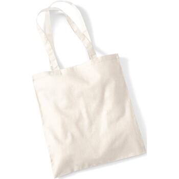 Tassen Tote tassen / Boodschappentassen Westford Mill W101 Natuurlijk