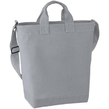 Tassen Dames Tote tassen / Boodschappentassen Bagbase BG673 Lichtgrijs