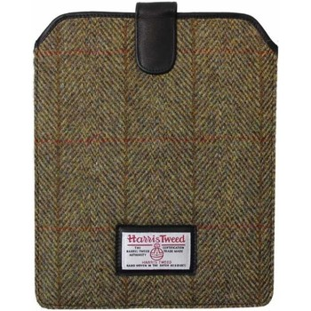 Tassen Heren Aktentassen / Zakentassen Harris Tweed  Kaki Groen
