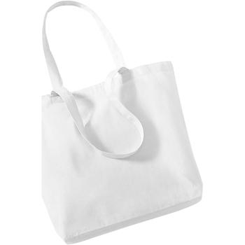 Tassen Tote tassen / Boodschappentassen Westford Mill W180 Wit