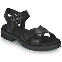 Schoenen Dames Sandalen / Open schoenen Clarks ORINOCO STRAP Zwart
