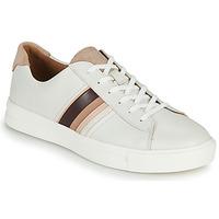 Schoenen Dames Lage sneakers Clarks Un Maui Band Wit